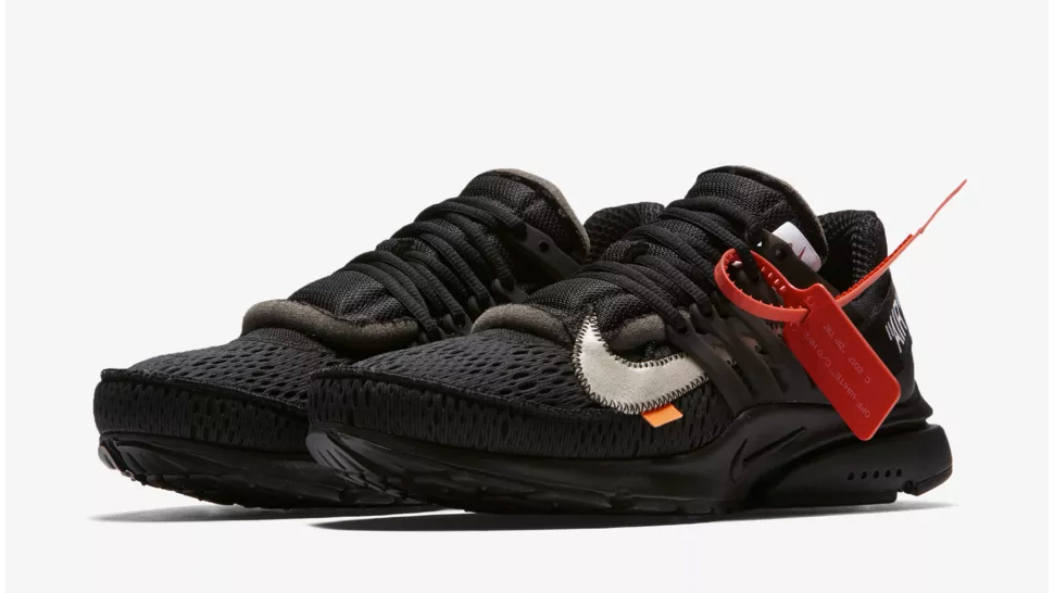 Off White Manila Drops the Nike Air Presto in Black