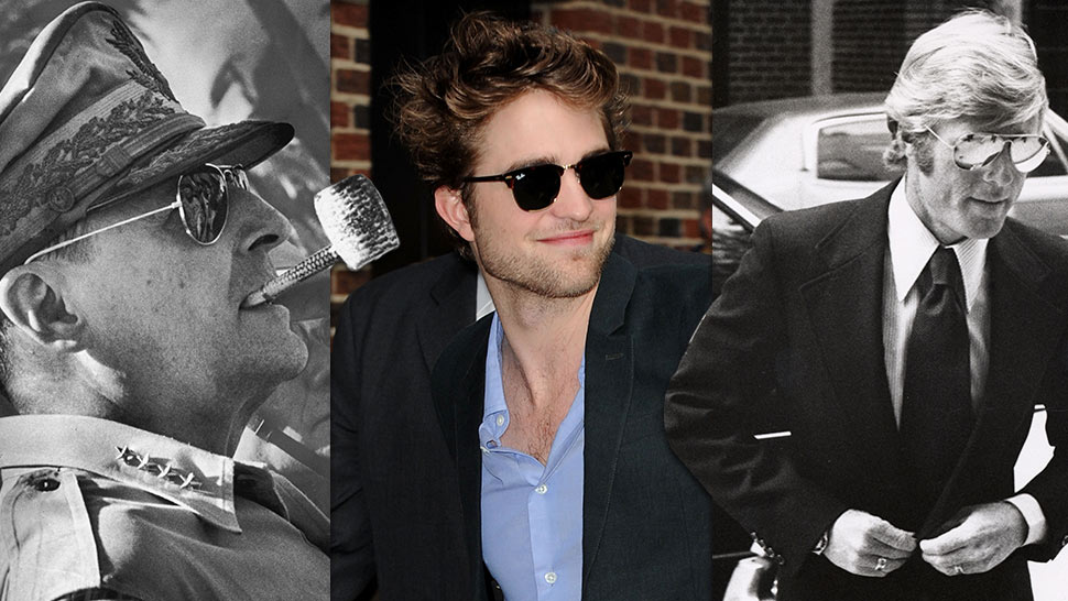 76abadbcb955c Take A Look At These Famous Men Wearing Iconic Sunglasses