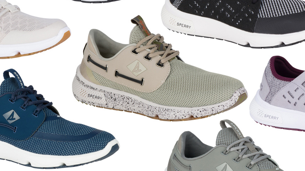 The Sperry 7 Seas Sneaker Collection is