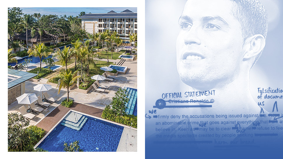 Henann Resorts Riffs Off Of Cristiano Ronaldo In A Statement