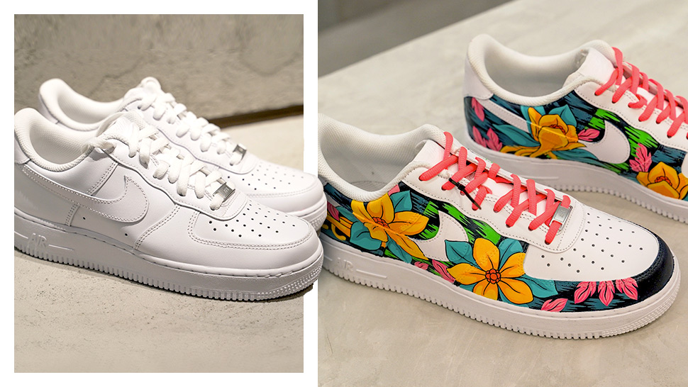 separation shoes df58f 29a6f Nike Wants You to Draw on Your Triple White Air Force 1s in the Name of  Self-Expression