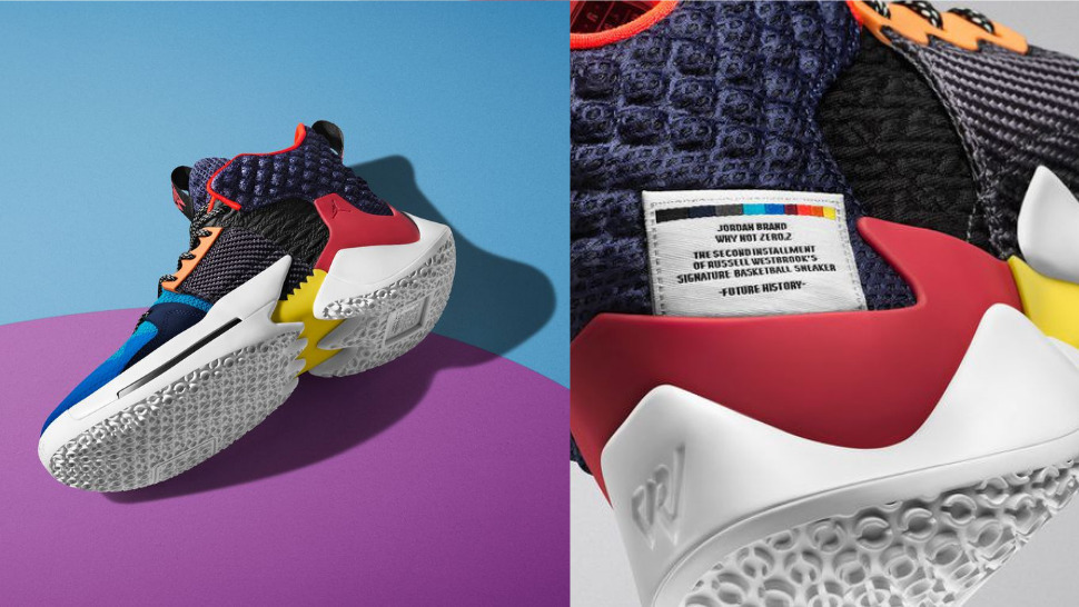 11320b9e8da9 Russell Westbrook s New Jordan Sneakers Are All About  Owning the Chaos
