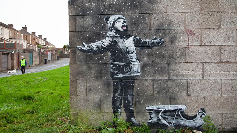 How Banksy Has Turned Graffiti Into an Art Form