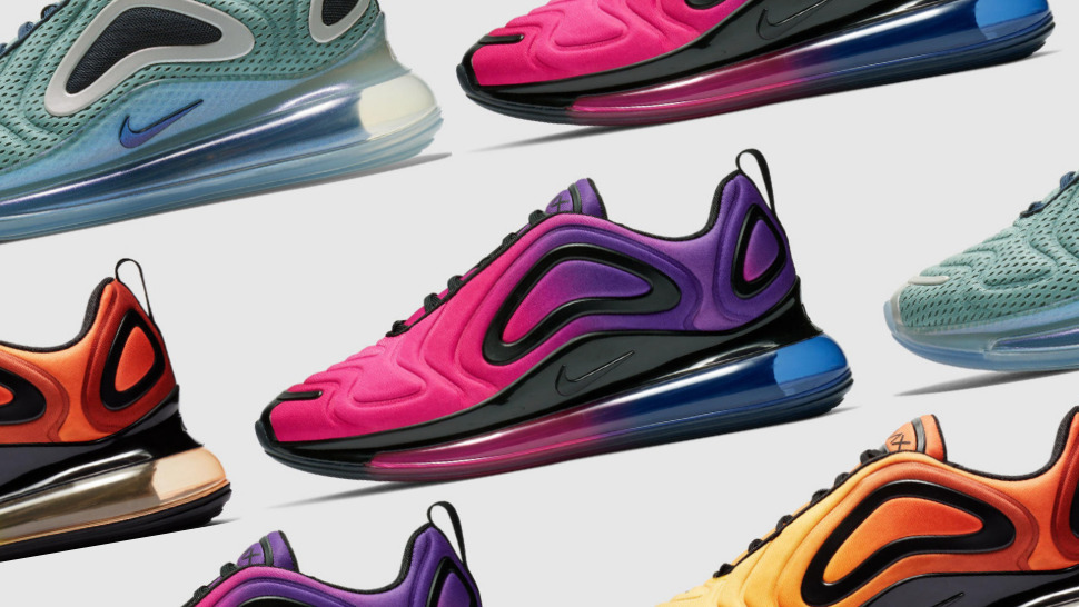 2fc1533429 Take a Look at all the Crazy-Cool Colorways of the Nike Air Max 720