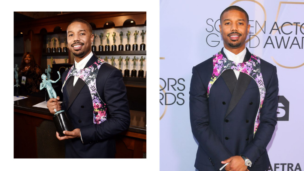 Michael B. Jordan Wore a Harness on the Red Carpet? | Esquire Ph