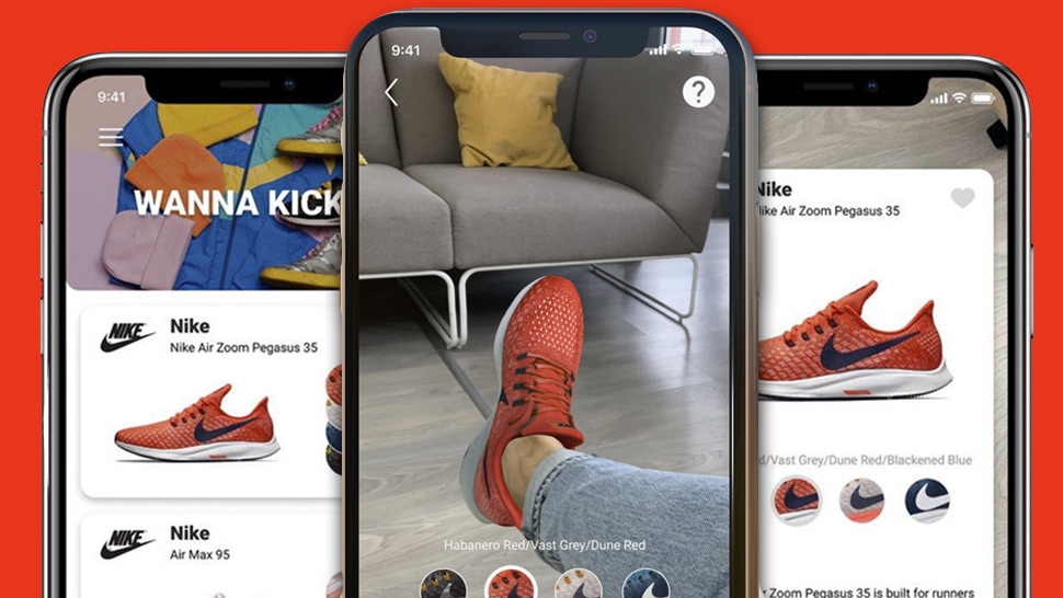 This App Lets You Virtually Try On Sneakers Before You Buy Them 835a47832e0