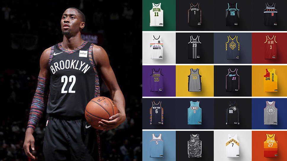 6f12f45ebd6c LOOK  Nike Releases NBA Jersey Honoring Rap Legend the Notorious B.I.G.