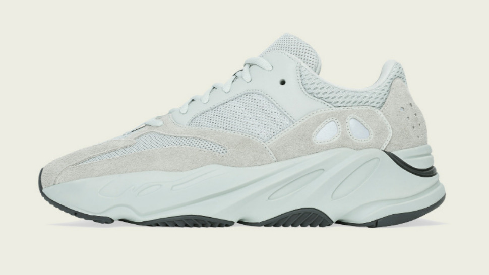 sports shoes 05a83 96de0 The Adidas Yeezy Boost 700 Salt Drops Today, and Its the Right-Now Sneaker  We Want