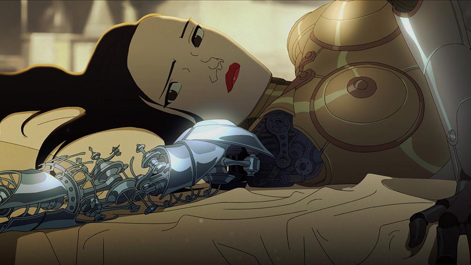 Female Sex Robot Cartoon