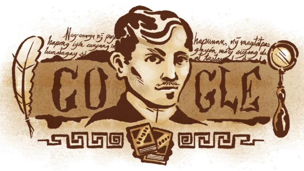 Google Marks Jose Rizal S Birthday With Special Doodle