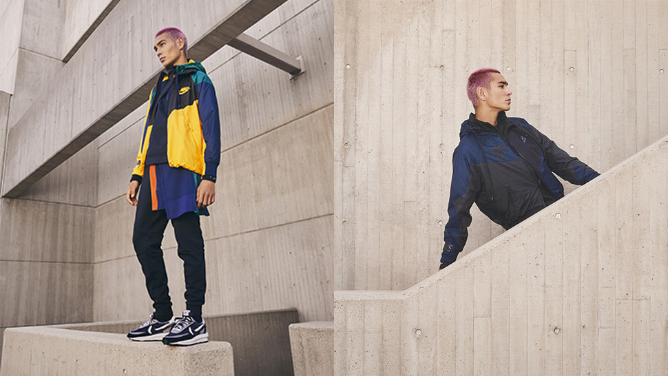 Shop Nike x Sacai Apparel Collection Collaboration in the