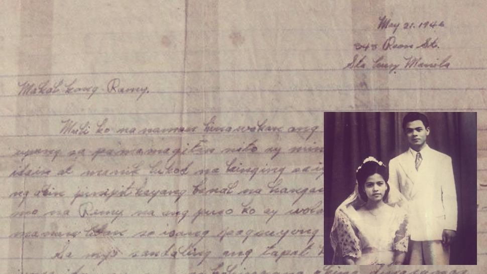 Letter sweet tagalog love Love Letter