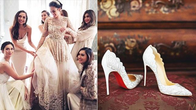 13 Pretty Wedding Shoes That Celebrity Brides Wore Bridal