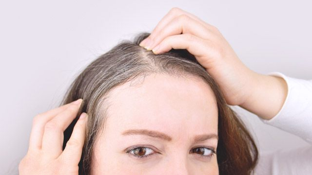 Ways To Cover Your Gray Roots In Between Dye Jobs