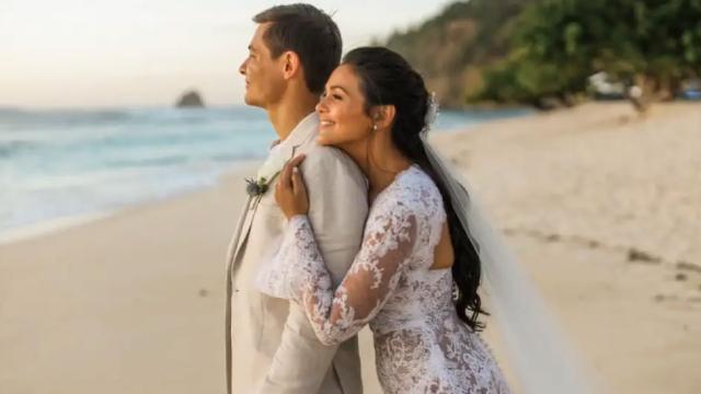 dbbf1221 WATCH: Iza Calzado And Ben Wintle's Tear-Jerking Wedding Video. '