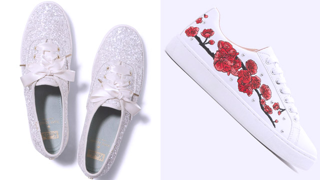 18a28176972 IMAGE (L) Keds for Kate Spade Bridal (R) Pull Bear