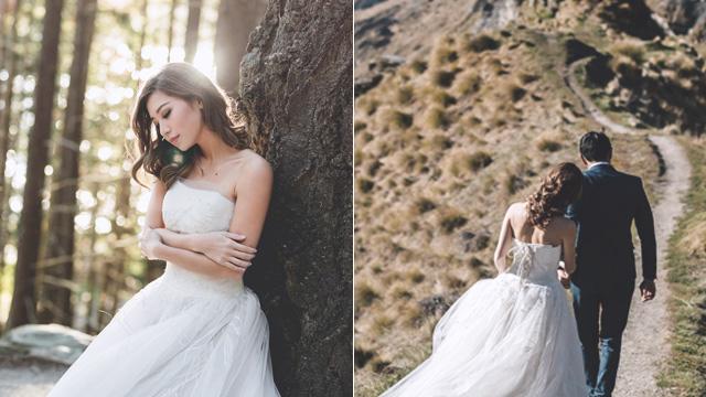 Kryz Uy And Slater Young S Wedding Bridal Book Fn
