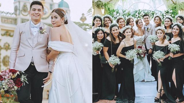 Dj Chacha And Partner Mike Guevarra S Lavish Garden Wedding