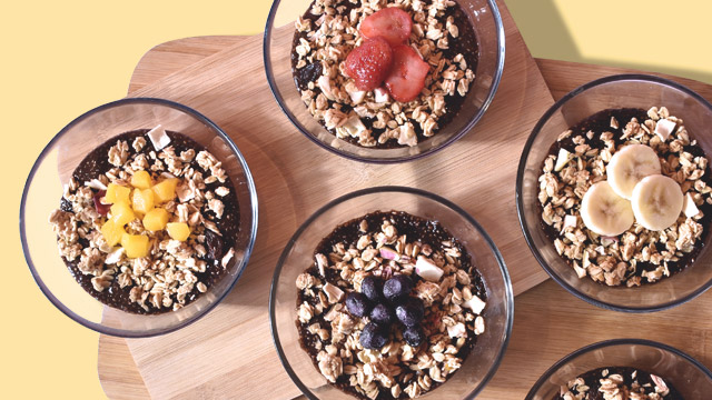 Jamba Juice Chia Pudding Cups For