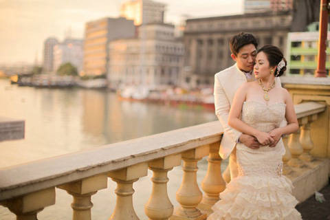3ed11c6d9d Tin and Uno tied the knot with a unique Filipiniana-themed wedding that  cast a spell of romance with its rustic charm. With personalized details  dotting the ...