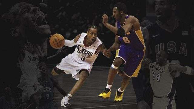 fc38639de087 Kobe Bryant Had To Go Full  Planet Earth  To Stop Allen Iverson
