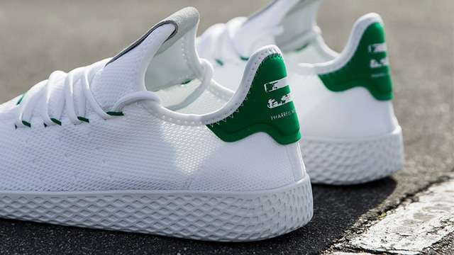 c95a563389eaf White Sneaker Fans Will Dig Pharrell Williams  Newest adidas Collab