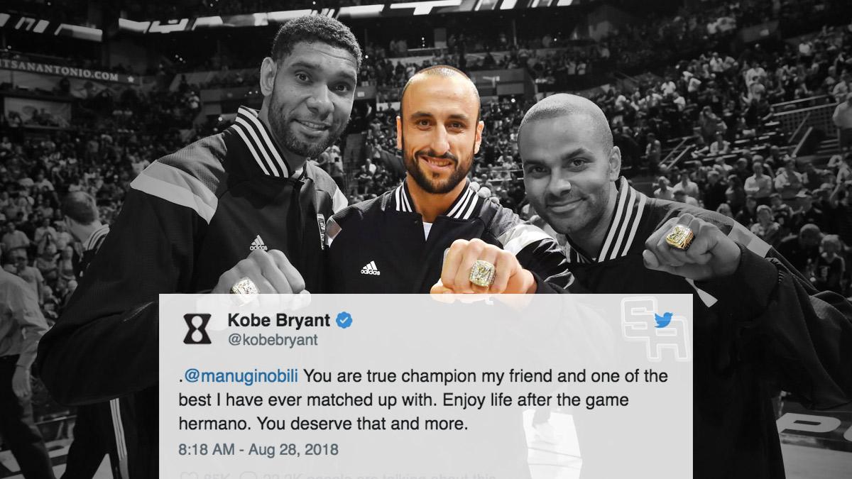 45e187309e40 NBA Superstars Show Retiring Manu Ginobili Some Love