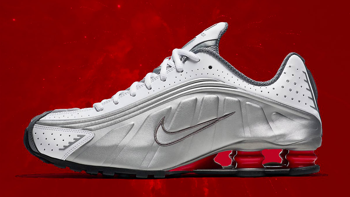 low priced b4759 3aa86 That s the sound that the Nike Shox doesn t actually make but we all  remember it anyway because the springy Nike model arrived when most of us  were ...