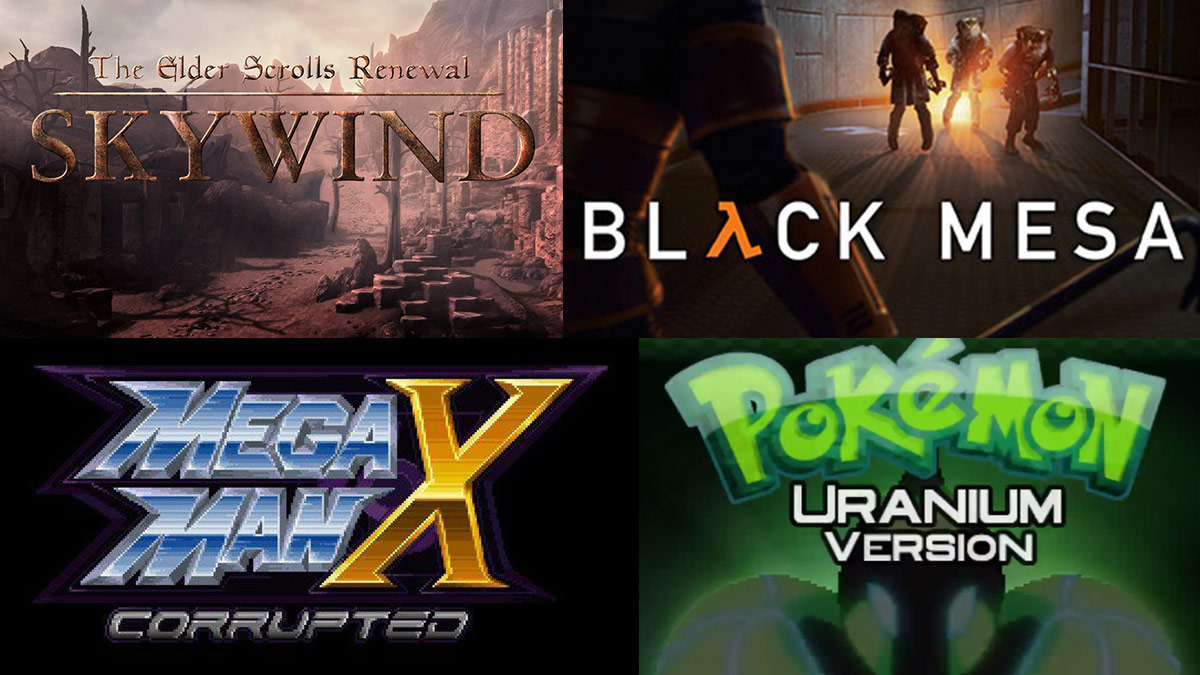 The Best Unofficial Fan-Made Video Games and Remakes