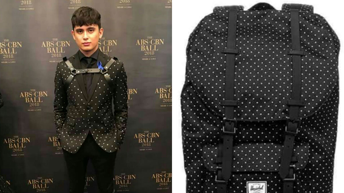 James Reid S Attack On Titan Outfit Is Best Abs Cbn Ball Meme