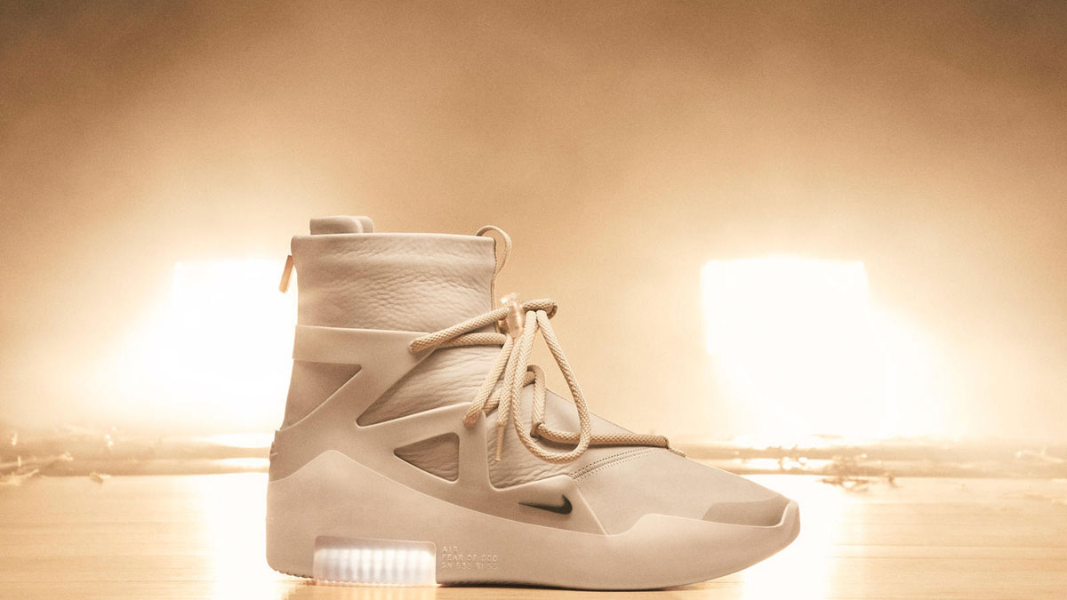 more photos bfc99 9ed17 The Nike Air Fear Of God 1 Is A Gift From The Heavens