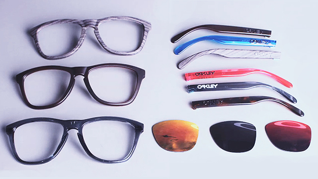 83f0c771169 WATCH  Create Your Own Custom Sunglasses With Oakley