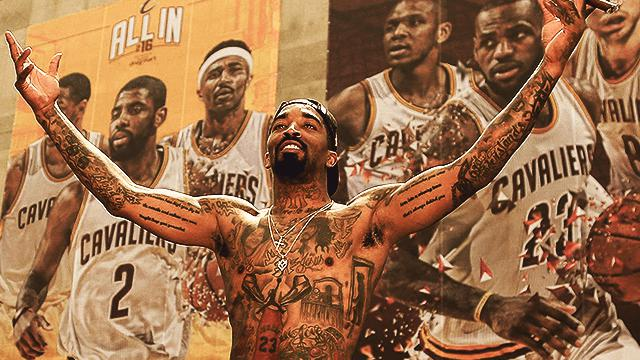47a11d7ba You can now look like a shirtless J.R. Smith—while still wearing a t-shirt.  Cleveland-based apparel company Fresh Brewed Tees ...