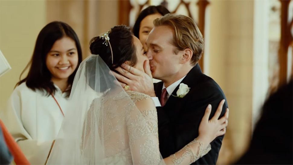 Watch Georgina Wilson And Arthur Burnands Wedding Video