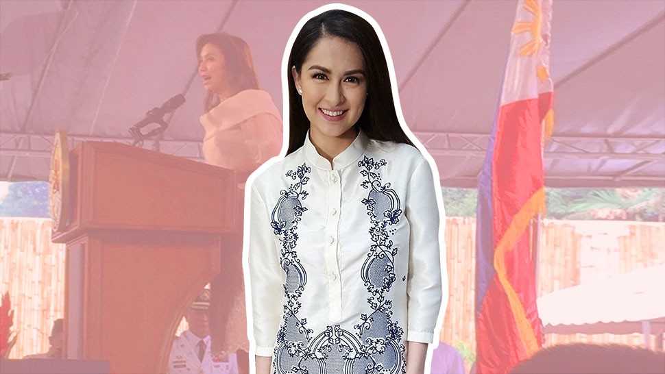 Marian Rivera Is A Scene Stealer At The Vice President S Inauguration