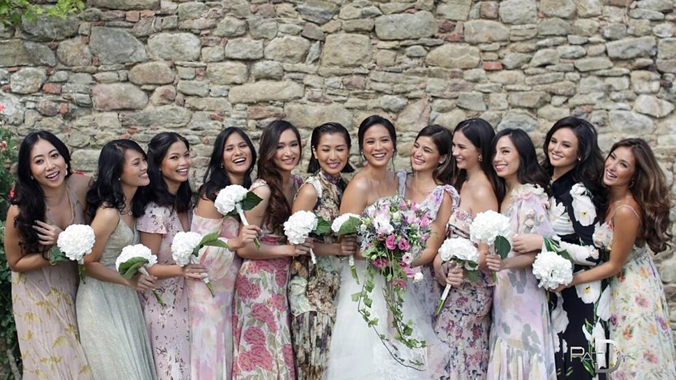 a69b5ffbd2fd What The Guests Wore To Isabelle Daza And Adrien Semblat s Wedding