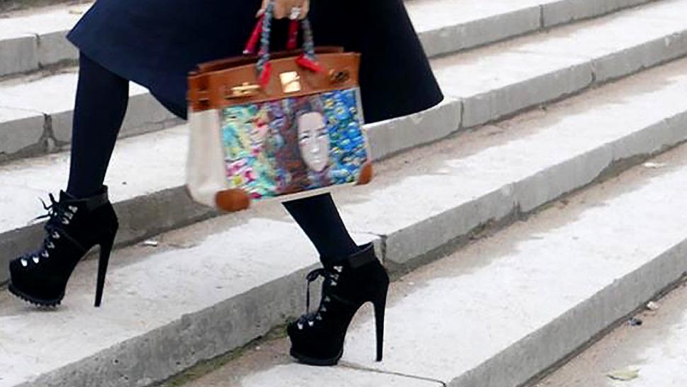 You Wont Believe Heart Evangelistas Genius To Wearing High Heels All Day