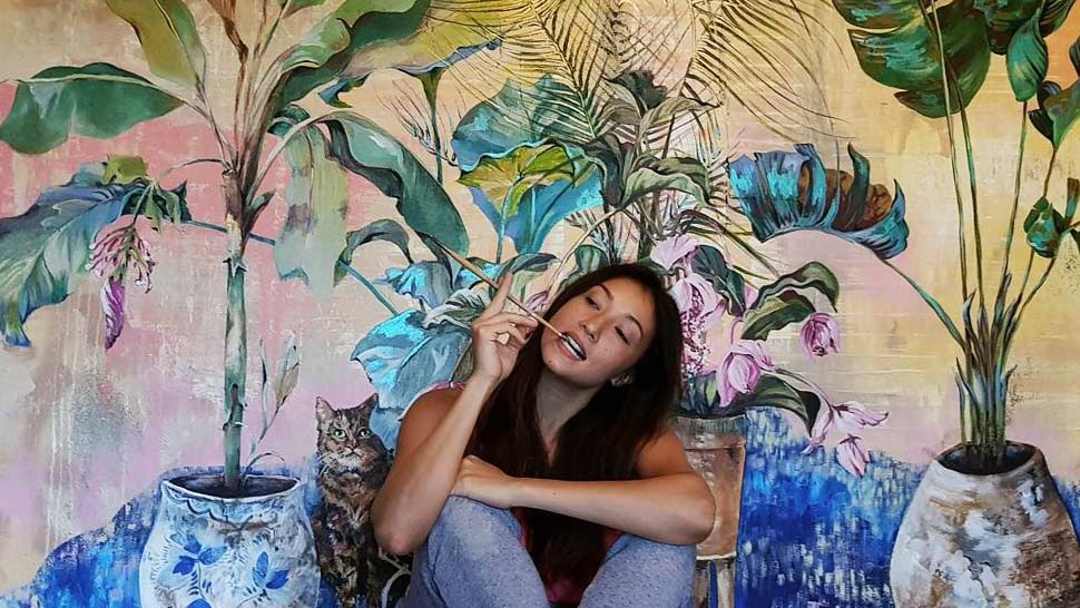 Solenn Heussaff S New Paintings Were Inspired By Two Prisoners