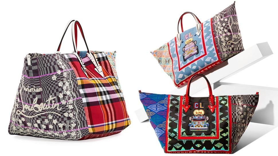 faef86d22ea Christian Louboutin's Latest Bags Feature Philippine Textiles