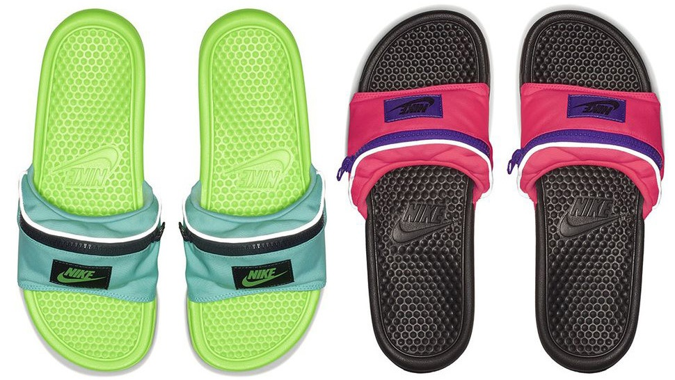 7c2f4fa83 The Nike Fanny Pack Slides Could Be The Most Practical Footwear Ever
