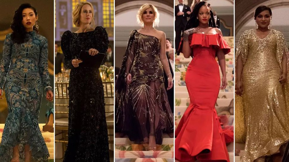 Image result for ocean's eight met gala scene