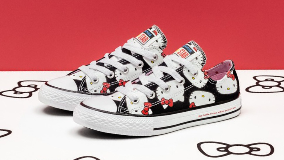 The Hello Kitty x Converse Collab Is Here and We Want Everything 88fceeeba