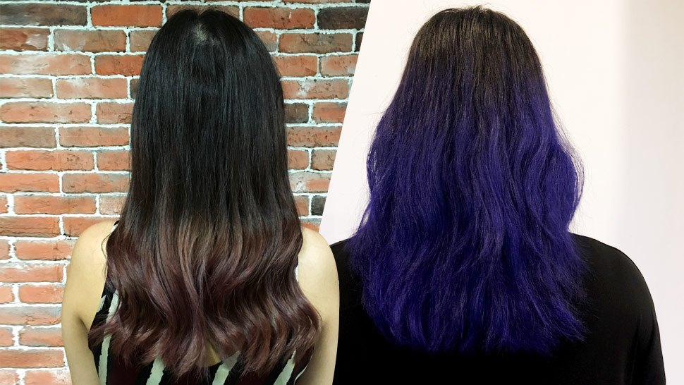 Review We Tried This 180 Peso Hair Dye To Achieve A Crazy Hair Color