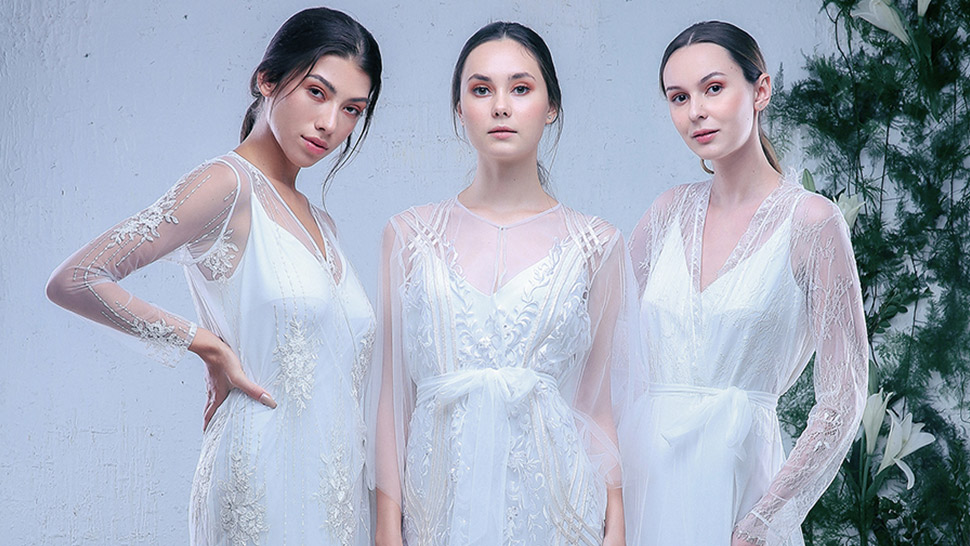release date good choose authentic Happy Andrada's Designer Bridal Robes