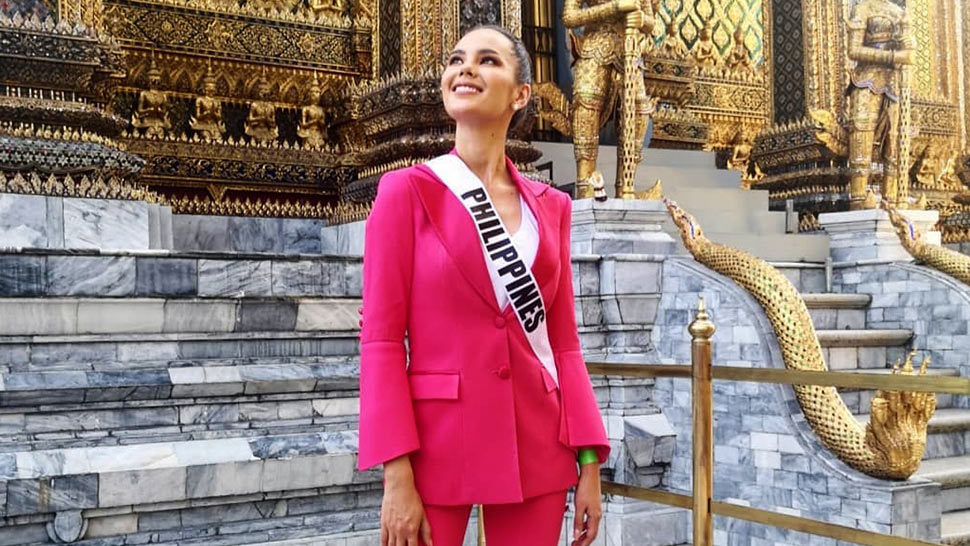 All The Details Of Catriona Gray's National Costume For Miss
