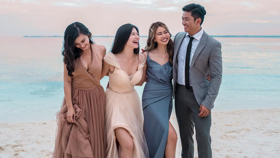 What The Guests Wore To Slater Young And Kryz Uy S Wedding