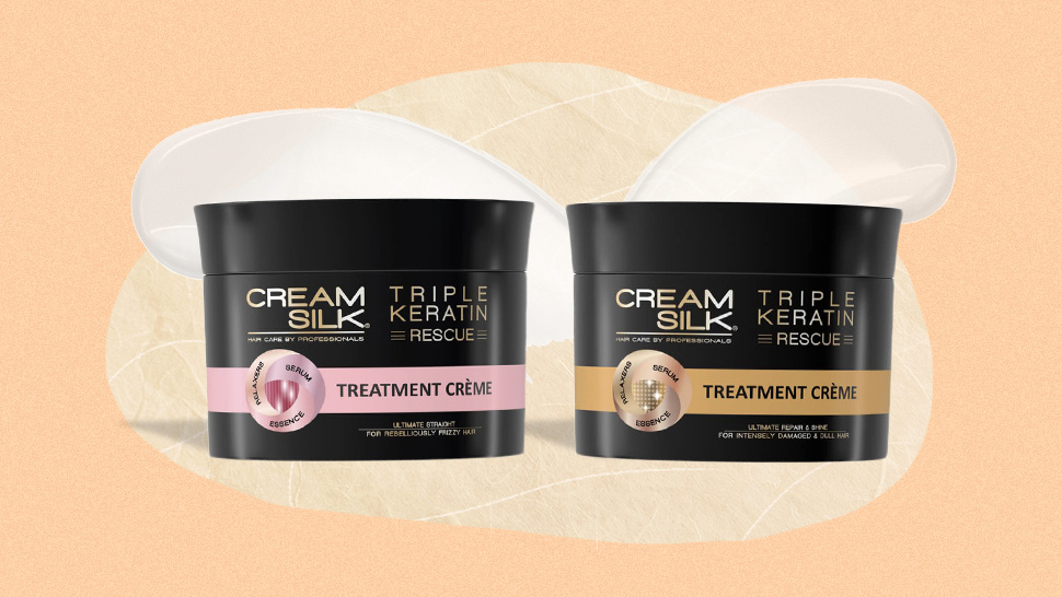 Review Cream Silk Triple Keratin Rescue Ultra Treatment Creme Review