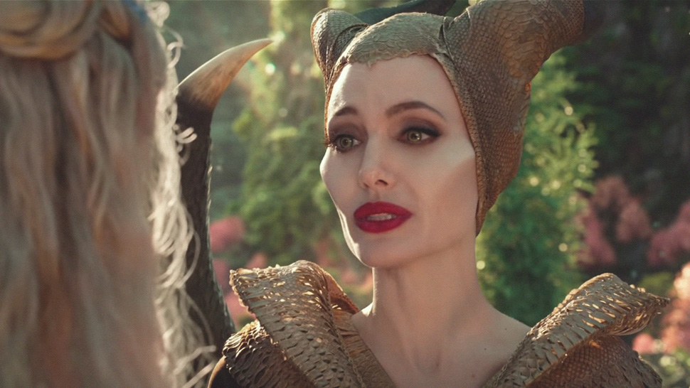 The Exact Red Lipstick Angelina Jolie Wore In Maleficent 2