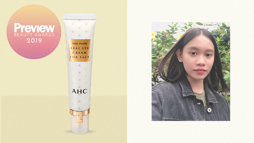 Review Ahc The Pure Real Eye Cream For Face