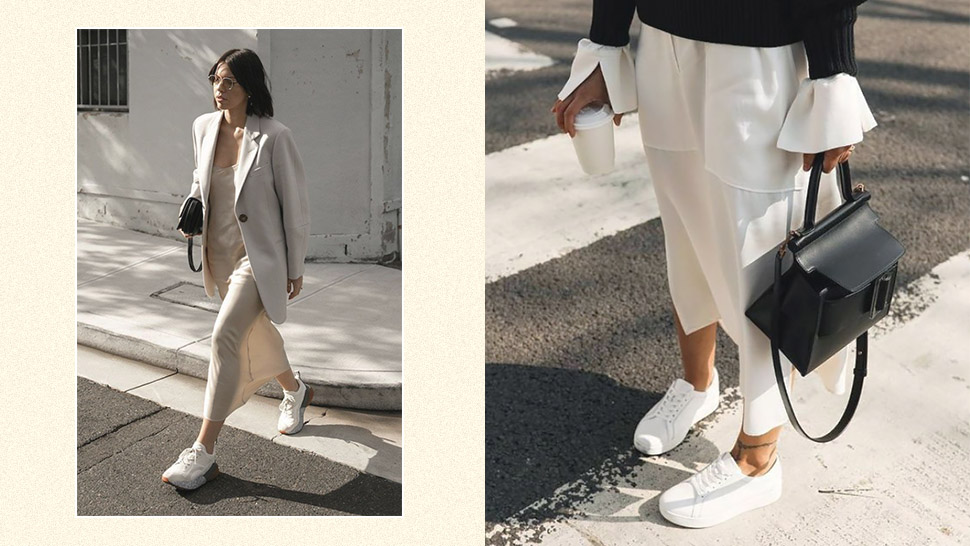 Cute Outfits With White Sneakers That
